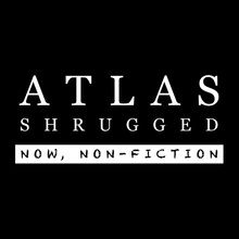 "Use coupon code UQ7Y8Z and take 10% off the official Atlas Shrugged ""Now, non-fiction"" t-shirt"