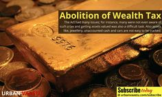 Abolition of #Wealth #Tax