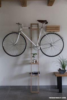 Bike hanger #2 by MALET