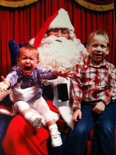 Nothing compares to the excitement kids get from seeing Santa.
