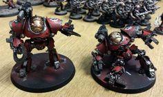 The Castellax Battle-automata almost complete.
