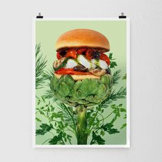 Go Green Burger via Furious Shop. Click on the image to see more!