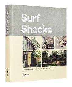 Surfing is a way of life. A life dominated by the waves and the tide with a cozy place to pause in between. Creative personalities crafting bold homes, Surf Shacks illustrates how surfers live both on and off shore. Published by Gestalten.