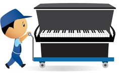 Piano removals available 7 days a week from £75