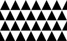 """Pochoir """"triangles scandinave""""  pour une déco de charme et bord de mer"""