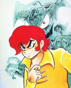 Devilman illustration by Go Nagai