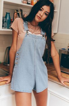 Afends | Frankie Overalls - Stone Blue | New Arrivals | Peppermayo