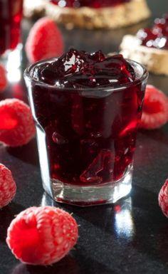 Gelée de framboises, fraises ou mûres