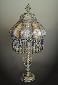 Beautiful Victorian lamp