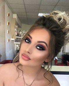 airbrush makeup guide and tips Prom Makeup, Cute Makeup, Gorgeous Makeup, Simple Makeup, Bridal Makeup, Wedding Makeup, Makeup Looks, Hair Makeup, Hair Simple