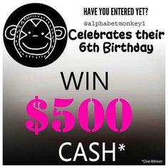 Have you entered text  $500 CASH -  HAVE YOU ENTERED This amazing giveaway yet? See original post for details . .