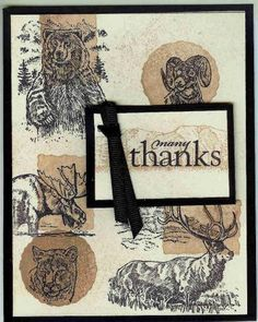 Stamp Camp Thank You Card