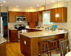 Kitchen Plans With Peninsulas kitchen peninsula ideas   new peninsula kitchen - kitchen designs