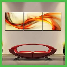 3 Piece Wall Art Home Decor Modern Picture Set On Canvas Painting Printed Pinturas Al Oleo Paisajes Room Decorations