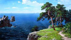 Сказочно красивые пейзажи корейского художника Sung Lee. Обсуждение на LiveInternet - Российский Сервис Онлайн-Дневников