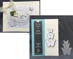 Cascadia Butterfly metal die set Memory Box Cutting Dies 99095 solid butterfies #MemoryBox
