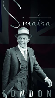 Nothing like a little Frank Sinatra to make you wish you were on the next flight to London.