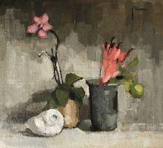 "Paula Rubino, ""Simple Pleasures"" - 910, oil on linen panel - at Principle Gallery"