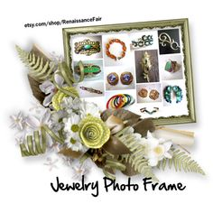 Jewelry Photo Frame by renaissance-fair on Polyvore