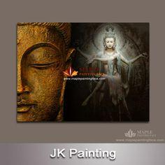 grande buddha stampa tela di arte della parete della tela di canapa pittura decorativa picture wall