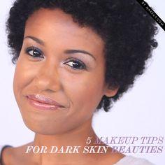 5 Makeup Tips for Dark Skin Beauties • Makeup.com