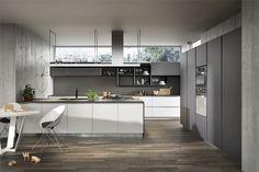 gray wood flooring kitchen - Google Search
