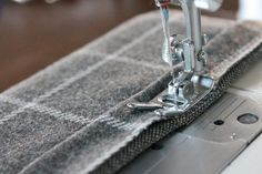 How to Hem Knit Fabrics on a sewing machine, not a serger. Two different hem options.