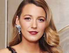 Blake Lively rimmed her eyes with icy white and pink for a Van Cleef & Arpels party in New York.