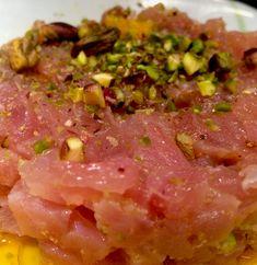 Carpaccio, Antipasto, Bruschetta, Finger Foods, I Foods, Food Inspiration, Italian Recipes, Sushi, Seafood