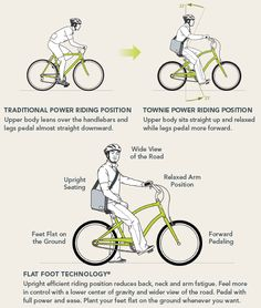 Bikes With Flat Foot Technology Flat foot technology explained