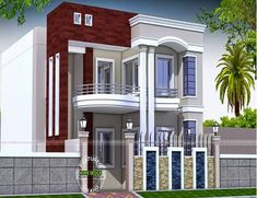 Exterior small home design ideas new modern house front elevation Kerala House Design, Unique House Design, House Front Design, Cool House Designs, Front Elevation Designs, House Elevation, Style At Home, Modern Bungalow Exterior, New Modern House