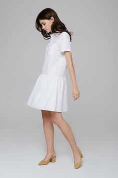 White Dress, Clothes, Dresses, Fashion, Outfits, Vestidos, Moda, White Dress Outfit, Fashion Styles