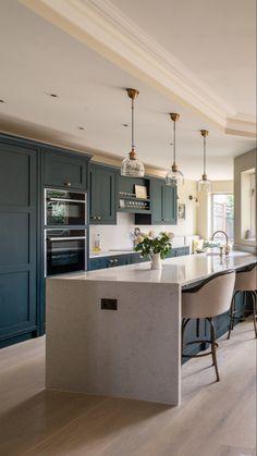 Bespoke Kitchen Projects in Kent, London, Essex, Hertfordshire and Surrey New Kitchen, Kitchen Decor, Kitchen Design, Kitchen Ideas, Moroccan Living Room Furniture, Dark Living Rooms, Bespoke Kitchens, Furniture Design, New Homes