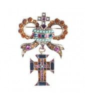 """""""The Jewel and the Crown"""" Pin"""