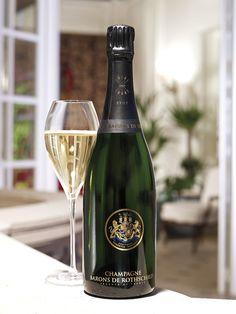 Brut from Barons de Rothschild South African Wine, Flute Champagne, Liquor Bottles, Fine Wine, Bottle Labels, Baron, Label Design, Wine Tasting, Red Wine