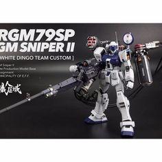Rifle de Francotirador ARMA Pistola para Bandai GUNDAM 1/100 MG 146-RGM 79SP GM SNNIPER2