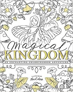 Magical Kingdom An Enchanting Fairy Coloringbook Adventure Mr Calvin Scott Drews Ms Noi