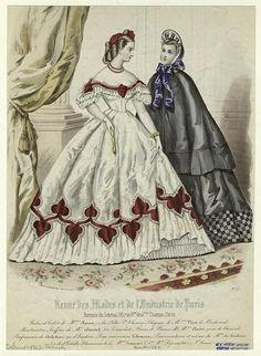 In the Swan's Shadow: Revue des Modes et de l'Industrie de Paris, November 1862.