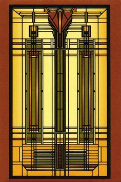 frank lloyd wright houses | Bradley House Glass. Lloyd Wright, Frank. Posters, Poster, cheap ...