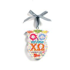 Chi O til I Die O! Have this little owl hanging on my wall! :)