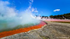 Neuseeland (Nordinsel) - Wai-O-Tapu Thermal Wonderland, Rotura
