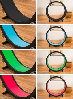 Designed by Sean Farley and fully funded via facebook, this exercise wheel for cats is easy to assemble, easy to clean and affordable. Comes in colors, too.