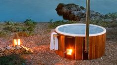 Skargards Regal - New Luxury Wood-fired Hot Tub from Sweden - Skargards Hot Tubs