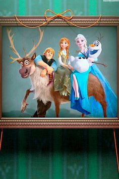 Frozen Fever- Family Portrait