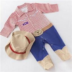 http://www.gotobaby.com/ – Buy a long-sleeve, cowboy-theme sleep set for your baby at Go To Baby, available for size from 0-6 months.