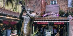 MUSICAL LEGENDS PARK AND CAFE BEIGNET Throughout December  Cafe Beignet 311 Bourbon Street New Orleans, Louisiana 70130  Enjoy the family-friendly patio/park in the heart of the French Quarter. The Park, dedicated to the great musicians of the city - past and present, welcomes holiday shoppers and city visitors with a place of comfort and live music. On special dates there will be visits from Santa and local choirs.