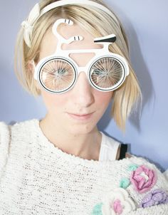 Lust auf ein Nasenfahrrad?! - Brillen, Fahrrad. glasses, Bikes
