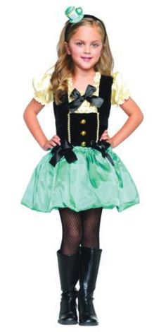 Bubble skirt dress and teacup headband. Child SM Dimensions (in Inches)Length : : :