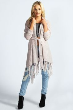 Poppy Belted Waterfall Cardigan.. I NEED THIS!