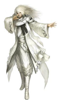 Looks like Pandumiel cloths.  Ximen by *naturaljuice on deviantART